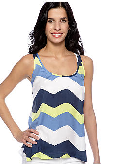 Jack by BB Dakota Allison Painted Zig Zag Tank