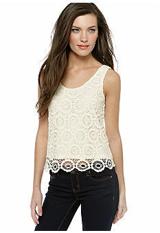 Jack by BB Dakota Crochet Tank