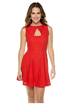 Jack by BB Dakota Kerr Lace Cutout Dress