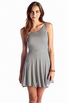 Jack by BB Dakota Striped Jersey Dress