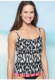 Beach Diva Tribal Wonder Tankini