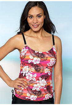 Beach Diva Sunset Adjacent Tankini