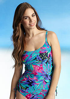 Beach Diva Carnivale Adjustable Side Tankini