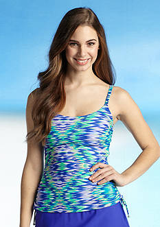 Beach Diva I-Katching Side Adjustable Tankini