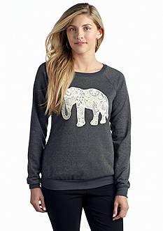 New Directions® Weekend Elephant Sweatshirt