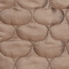 Jackets for Women: Bronze Metallic New Directions Metallic Pebble Quilted Vest