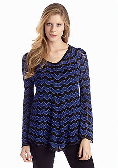 New Directions® Chevron Sweater