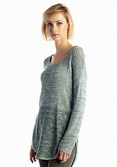 New Directions® Mix Stitched Ombre Sweater