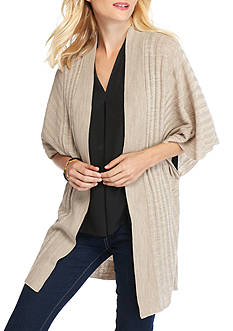New Directions Ribbed Cardigan
