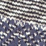 Women: New Directions Sweaters: Denim Combo New Directions Textured Raglan Sweater