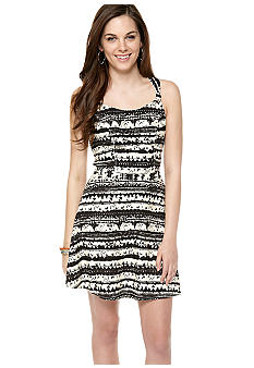 Jessica Simpson Archipelago Back Cutout Dress