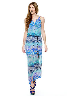 Jessica Simpson Hyacinth Ombre Illusion Maxi Dress
