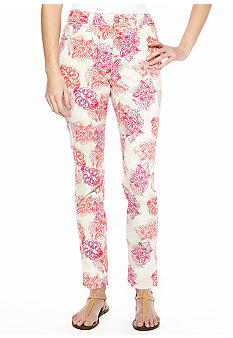 New Directions Weekend Lace Ankle Jean