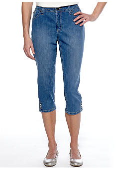 New Directions Weekend Snap Jean Crop
