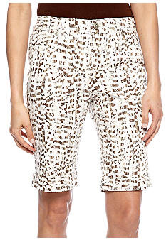 New Directions Weekend Roll Cuff Short