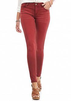 Celebrity Pink Color Skinny Jeans