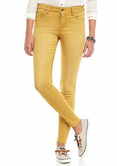 Celebrity Pink Color Skinny Jeans