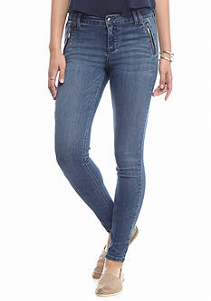 Celebrity Pink Zip Pocket Skinny Jeans