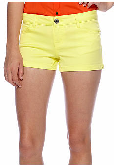 Celebrity Pink Solid Shorts