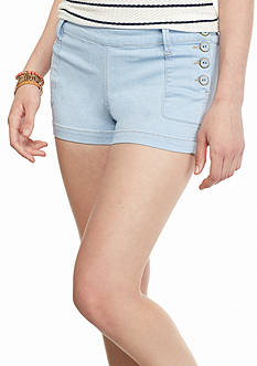Celebrity Pink Light Jean Sailor Shorts