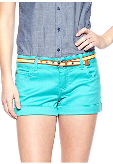 Celebrity Pink 5 Pocket Belted Short