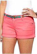 Celebrity Pink 5 Pocket Belted Short<br>