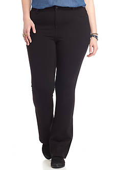 Celebrity Pink Plus Size Bootcut Power Ponte Pants