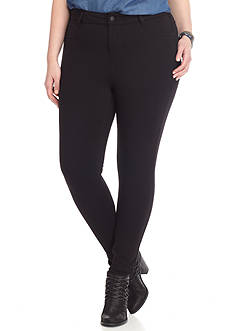 Celebrity Pink Plus Size Skinny Power Ponte Pants