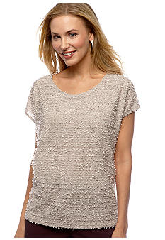 Bobeau Textured Top