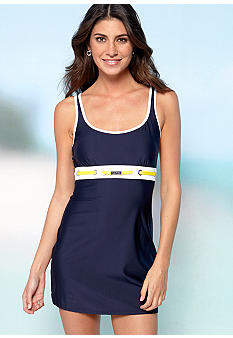 Nautica Classic Solids Swimdress