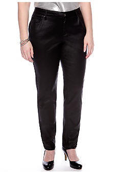 ZCO Jeans Plus Size Coated Skinny Denim