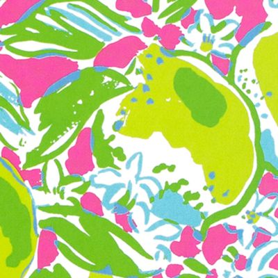 Lilly Pulitzer: Pink Lemonade Lilly Pulitzer Lilly's Lagoon Mini Notebook