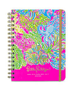 Lilly Pulitzer Lovers Coral Large Agenda