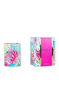 Lilly Pulitzer Coral Cay Candle