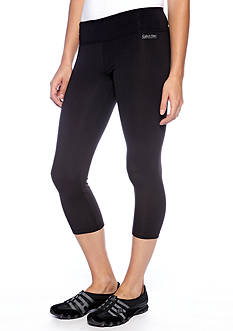 Calvin Klein Performance Crop Legging with Back Shirring