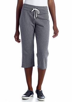Calvin Klein Performance French Terry Drawstring Crop