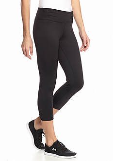 Calvin Klein Performance Rouched Waist Crop Leggings