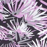 Calvin Klein Performance Pants: Violet Combo Calvin Klein Performance Starburst Print Ruched Crop Leggings