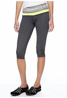 Calvin Klein Performance Fearless Crop Tight with Shirring