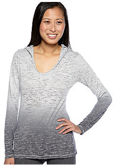 Calvin Klein Performance Hooded Burnout Pullover