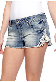 Red Camel Jean Crochet Short