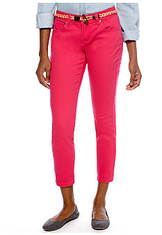 Red Camel Austin Pink Rolled Crop