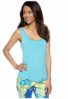 Skye's the Limit Petite Mediterraneo Tank Top