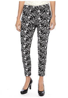 Skye's the Limit Petite Modern Retro Printed Pants