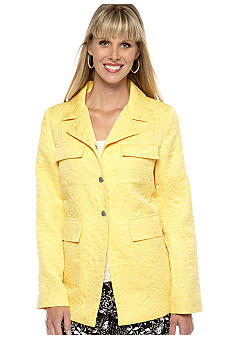 Skye's the Limit Petite Modern Retro Four-Pocket Jacket