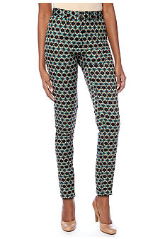 Skye's the Limit Petite Elegant Explorer Printed Neat Pants