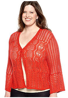 Skye's the Limit Plus Size Essentials One Button Cardigan