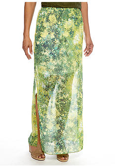 Skye's the Limit Wish You Were Here Maxi Skirt