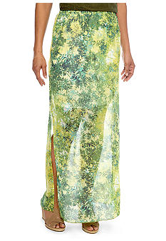 Skye's the Limit Petite Wish You Were Here Maxi Skirt