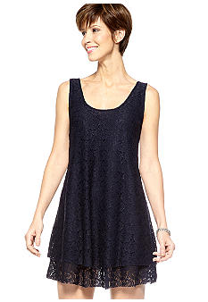 Skye's the Limit La Isla Bonita Lace Tank Dress